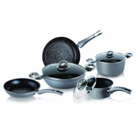 Set 8 piese Bialetti Energy Stone Induction